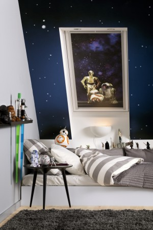 Kids VELUX Blackout Blind Star Wars Group
