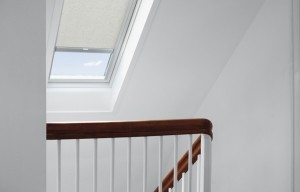 Stairwell Centre-pivot White Finish